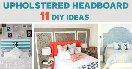 DIY upholstered headboard ideas