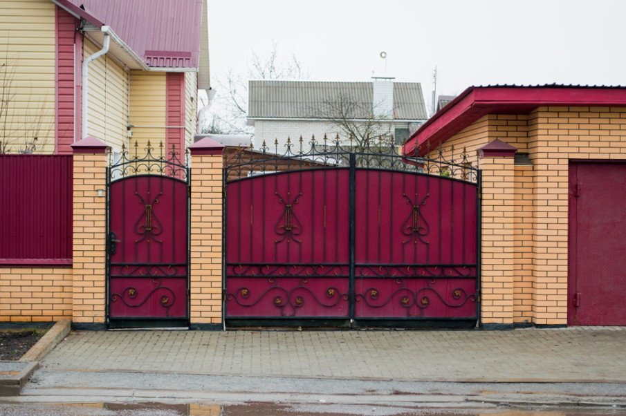 Ornamental gate design ideas