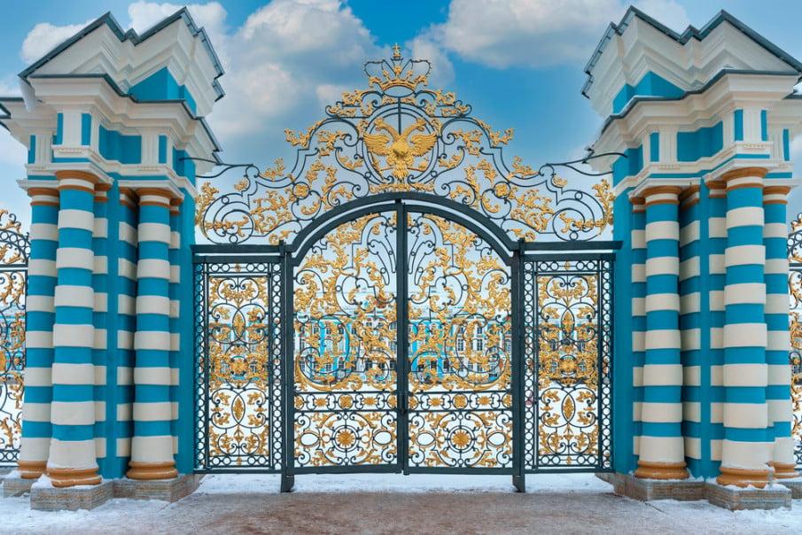 Ornate wrought iron gate ideas
