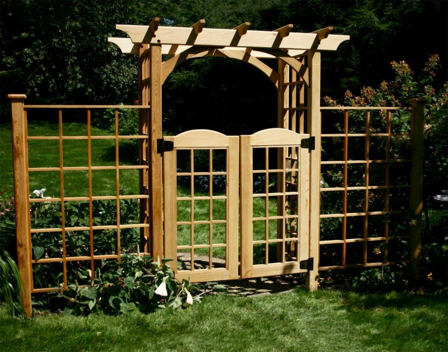 Arbor Gate with Wings from fifthroom.com