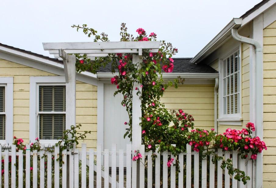 Easy to DIY arbor gate ideas