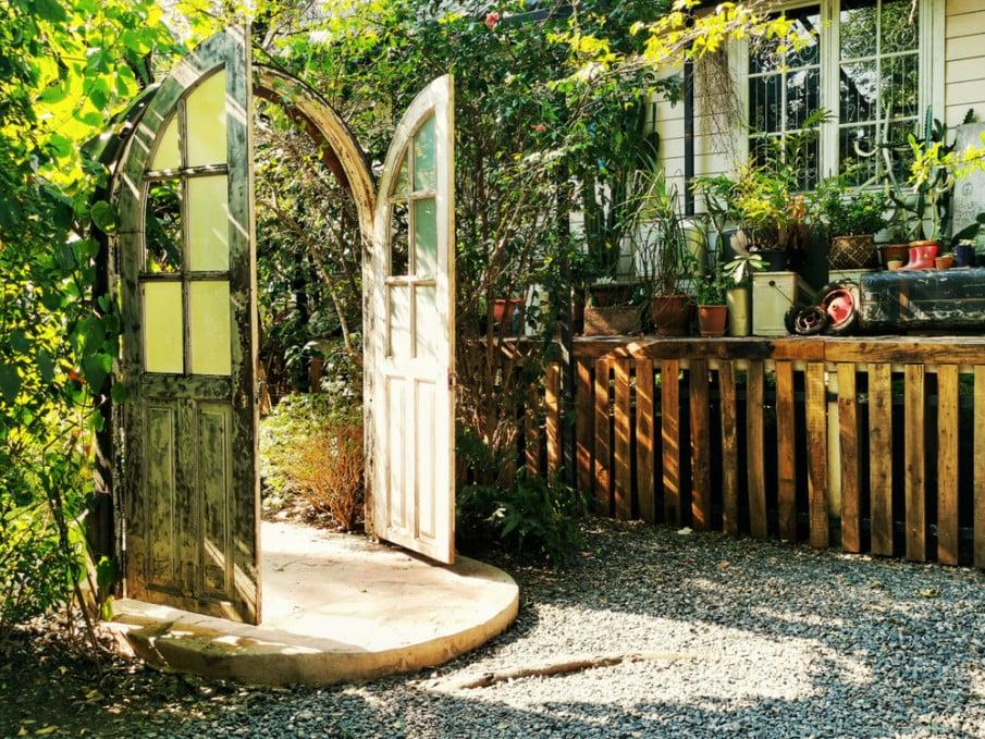 Enchanted garden entry ideas